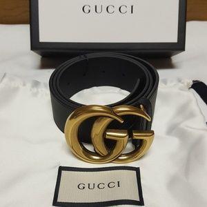 Gicci gold brass belt